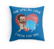 My Baby Blue Throw Pillow