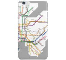 new york subway iPhone Case/Skin