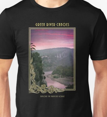 Tee: Canoeing at Dawn Unisex T-Shirt