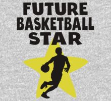 Future Basketball Star One Piece - Short Sleeve