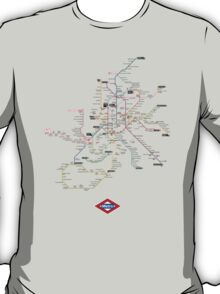 madrid subway T-Shirt