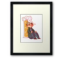 Clueing for Johns Framed Print