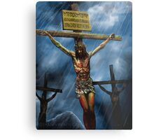 The sky is crying Metal Print