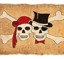 pirate love scroll by maydaze