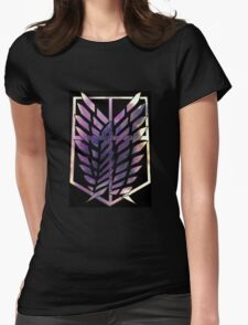 Attack On Titan - Survey Corps Womens Fitted T-Shirt