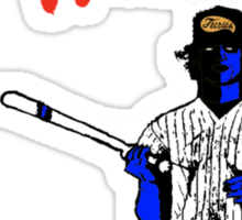BASEBALL FURIES blue Sticker