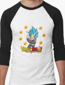 Dragon Ball Super - Vegeta Super Saiyan God Men's Baseball ¾ T-Shirt