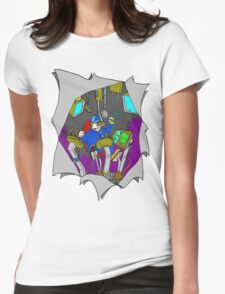 Man in the Machine Womens Fitted T-Shirt