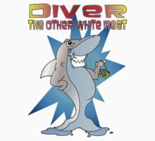Diver the other White Meat Baby Tee