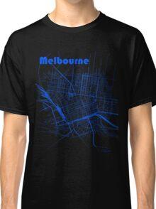 Melbourne Map Classic T-Shirt