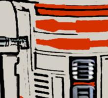 R2D2 MICHELANGELO Sticker