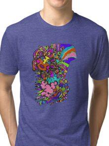 Groovy Sun Tri-blend T-Shirt