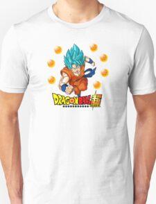 Dragon Ball Super - Son Goku Super Saiyan God T-Shirt