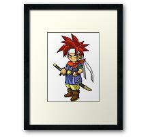 Cartoon Chrono Framed Print