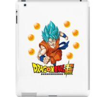 Dragon Ball Super - Son Goku Super Saiyan God iPad Case/Skin