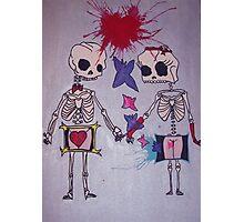 Skeletons :) Photographic Print