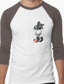 Pocket  Pal Men's Baseball ¾ T-Shirt