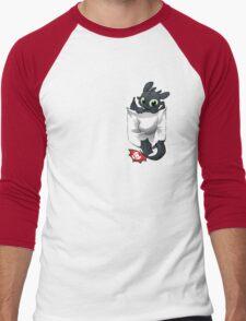 Pocket  Pal Men's Baseball ¾ T-Shirt