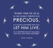 Carl Sagan T Shirt by madphilosopher
