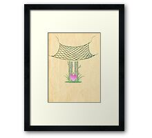 Catch Love Framed Print