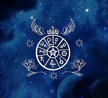 Sailor Moon Symbol ~ セーラームーン by mixiemoon