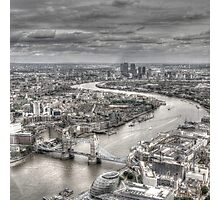 London from Above Photographic Print