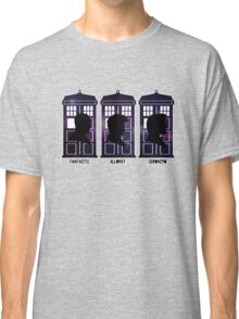 Doctor Who - 9, 10 & 11 Catchphrases Classic T-Shirt