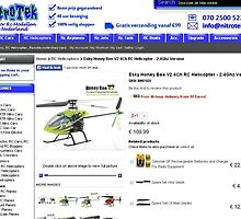 Esky Honey Bee V2 4Ch RC Helicopter - 2.4Ghz Version by berrymartin