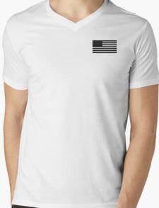 black flag baseball Mens V-Neck T-Shirt