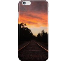 Railway Sunset iPhone Case/Skin