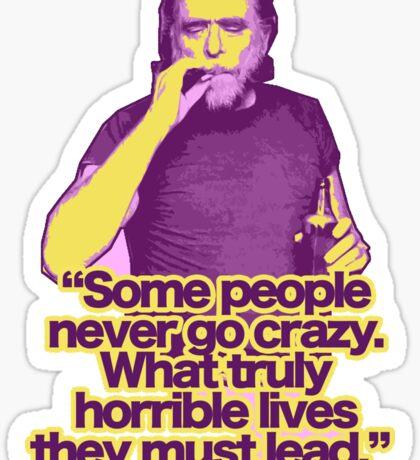 Bukowski 2 Sticker