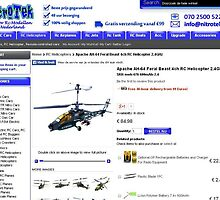 Apache AH-64 Feral Beast 4ch RC Helicopter 2.4GHz by berrymartin