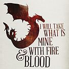 Fire and Blood by thebrink