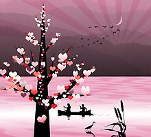 Ipad: Canoeing with your Valentine by Steven House