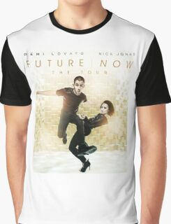 Future Now The Tour 2016 Demi Lovato Nick Jonas 3 Graphic T-Shirt