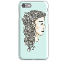 Elven lady iPhone Case/Skin