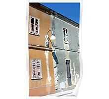 Villasimius architecture, Sardinia, Italy Poster