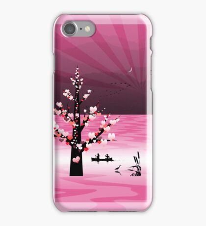 Phone case: Canoeing with your Valentine iPhone Case/Skin