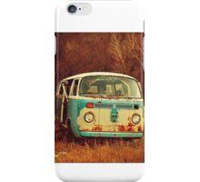 Old Vintage Van in the Autumn iPhone Case/Skin