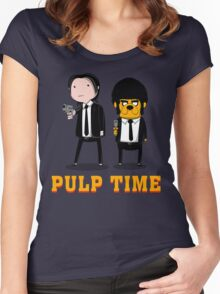 Pulp Time Women's Fitted Scoop T-Shirt