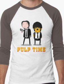 Pulp Time Men's Baseball ¾ T-Shirt