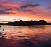 Sunset Before Typhoon Yolanda by Paul Weston
