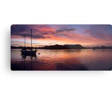 Sunset Before Typhoon Yolanda Metal Print