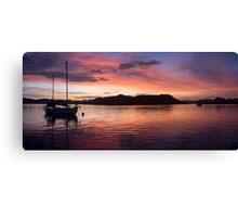 Sunset Before Typhoon Yolanda Canvas Print