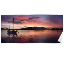 Sunset Before Typhoon Yolanda Poster