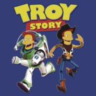 Troy Story - Simpsons & Pixar Toy Story Parody by apeape