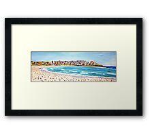 Bondi Cool Framed Print