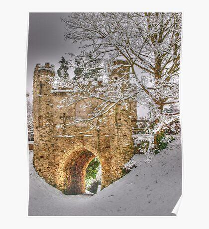 Reigate Castle Poster