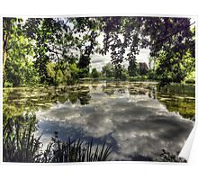 Reigate Priory Lake Poster