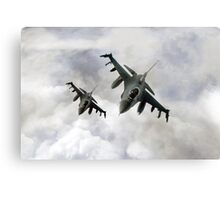 Fighting Falcons Canvas Print
